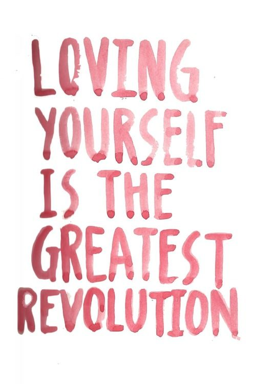 Loving Yourself Is The Greatest Revolution Reflections From A Redhead Janine Ripper